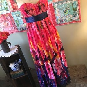 Gorgeous Floral Gown by Ever Pretty